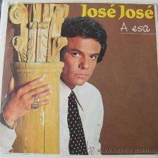 Disques de vinyle: JOSE JOSE - A ESA / ENTRE ELLA Y TU - SINGLE PROMO 1983. Lote 24129550