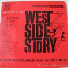 Discos de vinilo: WEST SIDE STORY - EP DE 1962. Lote 24131023