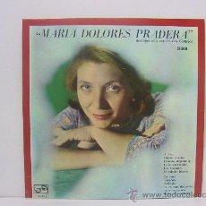 Discos de vinilo: MARIA DOLORES PRADERA - ACOMPAÑADA PÒR LOS GEMELOS - ZAFIRO 1967. Lote 24133822