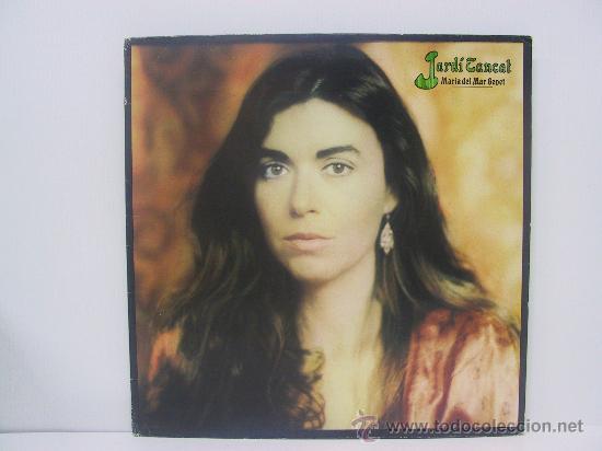 MARIA DEL MAR BONET - JARDI TANCAT - PORTADA ABIERTA - ARIOLA 1981 (Música - Discos - LP Vinilo - Solistas Españoles de los 70 a la actualidad)