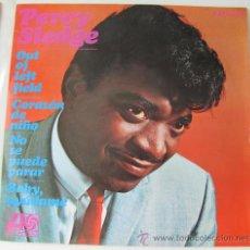 Disques de vinyle: PERCY SLEDGE - OUT OF LEFT FIELD - EP 4 CANCIONES - 1967 - EXCELENTE ESTADO. Lote 24137559