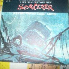 Discos de vinilo: EP TANGERINE DREAM - SORCERER - BETRAYAL + GRIND. Lote 24138427