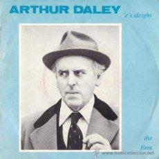 Discos de vinilo: ARTHUR DALEY - THE FIRM - 1982. Lote 25780037