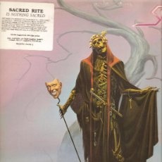Discos de vinilo: LP SACRED RITE - IN NOTHING SACRED - HARD ROCK- . Lote 24159147