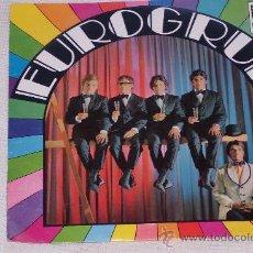Discos de vinilo: EUROGRUP 7´SG 1968 ROCK/SOUL CATALAN 60´S RARITE NUEVO (MINT )COLECCIONISTAS. Lote 24159669