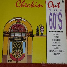 Discos de vinilo: CHECKIN' OUT: THE 60'S - RICKY NELSON, COASTERS, CRYSTALS. Lote 24159979