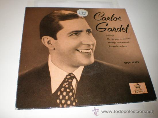 SINGLE - CARLOS GARDEL (Música - Discos - Singles Vinilo - Grupos y Solistas de latinoamérica)