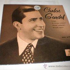 Discos de vinilo: SINGLE - CARLOS GARDEL. Lote 25822448
