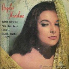 Discos de vinilo: ANGELES HORTELANO EP SELLO COLUMBIA AÑO 1963. Lote 24163619