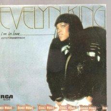 Discos de vinilo: SINGLE EVELYN KING - I´M IN LOVE . Lote 24172250