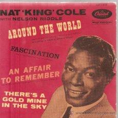 Discos de vinilo: EP NAT KING COLE - AROUND THE WORLD + 3 . Lote 24172469