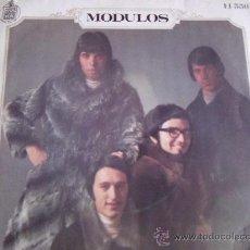Discos de vinilo: MODULOS-TODO TIENE SU FIN-NADA ME IMPORTA-SG45RPM-1969-HISPAVOX-. Lote 24192434