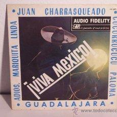 Discos de vinilo: SINGLE ¡VIVA MEXICO! MARIACHI NACIONAL (AUDIO FIDELITY-1964). Lote 24206062
