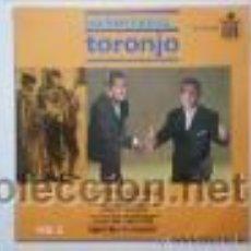 Discos de vinilo: LOS HERMANOS TORONJO-FANDANGOS/NUEVA SERIE VOL 2-EP HISPAVOX 1964. Lote 24208646