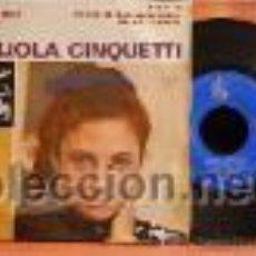 Discos de vinilo: GIGLIOLA CINQUETTI EP HG 77-31 DE 1964 . Lote 27562528