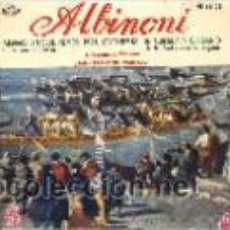 Discos de vinilo: ALBINONI - JEAN-FRANÇOISE PAILLARD (EP HISPAVOX HE 66-08). Lote 27562530