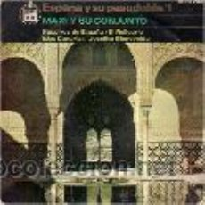 Discos de vinilo: MAXI Y SU CONJUNTO - SINGLE EP - ESPAÑA Y SU PASODOBLE / 1 - HISPAVOX 1964 . Lote 24211751