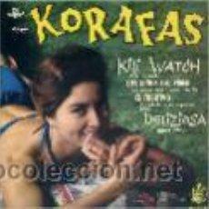 Discos de vinilo: KORAFAS / KILI WATCH / LOS NIÑOS DEL PIREO / EL FUGITIVO / DELIZIOSA (EP 61). Lote 27269521
