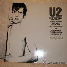 Discos de vinilo: U2 MAXI SINGLE 45 RPM . Lote 24213421