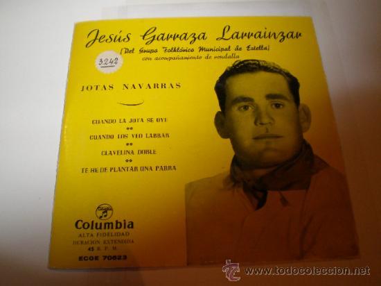 SINGLE - JESUS GARRAZA (Música - Discos - Singles Vinilo - Solistas Españoles de los 50 y 60)