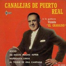 Discos de vinilo: CANALEJAS DE PUERTO REAL - ROCÍO - EP, 1961. Lote 27032626