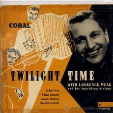 Discos de vinil: LAWRENCE WELK / TWILIGHT TIME (TEMAS EN PORTADA). Lote 24254349