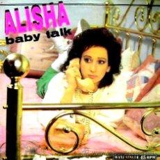 Discos de vinilo: 12 INCH - ALISHA - BABY TALK (ELECTRO) MAXI-SINGLE MINT. Lote 24257041