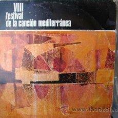 Disques de vinyle: VII FESTIVAL DE LA CANCION DEL MEDITERRANEO PROMO R.T.V.E VER FOTOS ADICIONALES. Lote 27127198