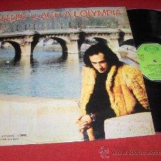 Discos de vinilo: LLUIS LLACH A L'OLYMPIA LP 1973 MOVIEPLAY PORTADA SENCILLA. Lote 25727683