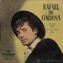 Discos de vinilo: RAFAEL DE CÓRDOVA - CASTILLA (ALBÉNIZ) / VIVA NAVARRA. Lote 27032624