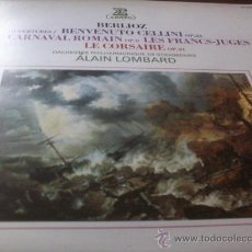 Discos de vinilo: H.BERLIOZ./ OVERTURES.- .. DIR.- ALAIN LOMBARD . Lote 24268818