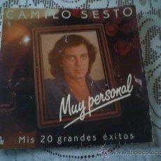 Discos de vinilo: LP CAMILO SESTO -1982 - DOBLE DISCO .(). Lote 27116578