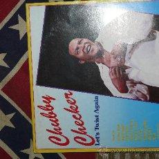 Discos de vinilo: CHUBBY CHECKER - LET'S TWIST AGAIN (SUCCES RECORDS). Lote 24280029