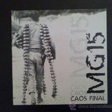 Discos de vinilo: MG15, CAOS FINAL - EP ESPAÑOL. Lote 27476233