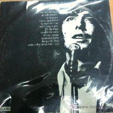 Discos de vinilo: LP JOAN MANUEL SERRAT EDITADO POR ORLADOR 1971. Lote 24293459