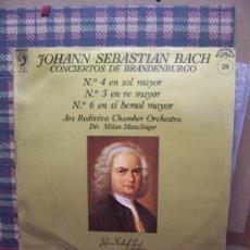 Discos de vinilo: JOHANN SEBASTIAN BACH - DISCOPHON 1971 - CONCIERTOS DE BRANDENBURGO. Lote 24316739