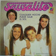 Discos de vinilo: SAUSALITO - CUALQUIER NOCHE PUEDE SALIR EL SOL (LP + SINGLE DE REGALO) COMO NUEVO. Lote 24316867