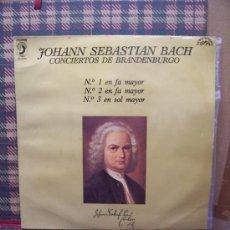 Discos de vinilo: JOHANN SEBASTIAN BACH - DISCOPHON 1971 - CONCIERTOS DE BRANDENBURGO. Lote 24317162
