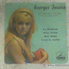 Discos de vinilo: EP- GEORGES JOUVIN- LE MADISON-1962-. Lote 27317084