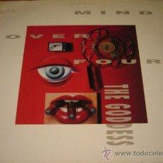 Discos de vinilo: THE GODDESS - MIND OVER FOUR - LP - CAROLINE 1990 GERMANY 210718 - LETRAS. Lote 24328755