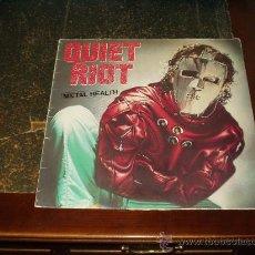 Discos de vinilo: QUIET RIOT LP METAL HEALT TERCER ALBUM HEAVY METAL. Lote 26431596