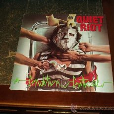 Discos de vinilo: QUIET RIOT LP CONDITION CRITICAL CUARTO ALBUM HEAVY METAL. Lote 26431601