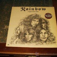Discos de vinilo: RAINBOW LP LONG LIVE ROCK N'ROLL TERCER ALBUM HEAVY METAL. Lote 152615330