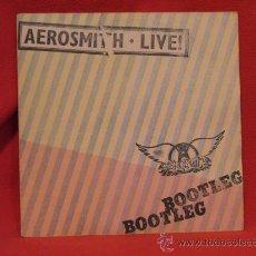 Discos de vinilo: AEROSMITH LIVE - BOOTLEG - CBS 1978 - CON ENCARTES Y POSTER. Lote 24363523