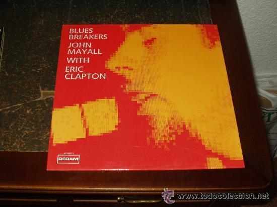 BLUES BREAKERS JOHN MAYALL WITH ERIC CLAPTON LP12 (Música - Discos - LP Vinilo - Pop - Rock Extranjero de los 50 y 60)