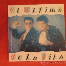 Discos de vinilo: EL ULTIMO DE LA FILA- NUEVO PEQUEÑO CATALOGO DE SERES Y ESTARES - EMI 1990. Lote 24367398