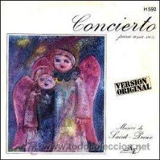 Discos de vinilo: SAINT PREUX - CONCIERTO PARA UNA VOZ (CONCERTO POUR UNE VOIX) / VARIATIONS (DISC AZ, 1970). Lote 27458405