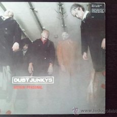Discos de vinilo: DUST JUNKYS - NOTHIN´PERSONAL - LP VINILO - INCLUYE POSTER - 1998. Lote 27458085