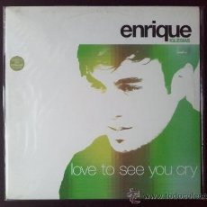 Discos de vinilo: ENRIQUE IGLESIAS - LOVE TO SEE YOU CRY - MAXI - VINILO - INTERSCOPE - 2002. Lote 25950031