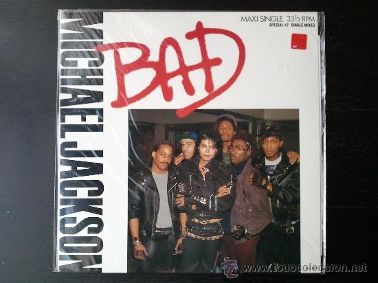 MICHAEL JACKSON - BAD - MAXI SINGLE - SPECIAL 12 SINGLE MIXES - MJJ - 1987 (Música - Discos de Vinilo - Maxi Singles - Pop - Rock - New Wave Internacional de los 80)